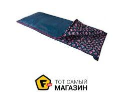 Спальник-одеяло Highlander Sleepline 250 + 5°C Left, floral blue (925865)