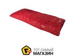 Спальник-одеяло Highlander Sleepline 250 + 5°C Left, red (925868)