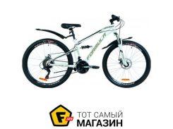 """Велосипед Formula Blaze DD 2019 26"""" белый/черный 15"""" (OPS-FR-26-295)"""