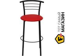 Барный стул Примтекс плюс 1011 Hoker black S-3120 red