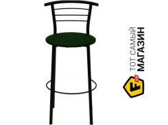 Барный стул Примтекс плюс 1011 Hoker black S-6214 dark green