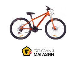 """Велосипед Formula Thor 1.0 DD 2019 26"""" оранжевый/черный/бирюзовый 18"""" (OPS-FR-26-270)"""