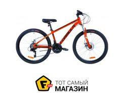 """Велосипед Formula Thor 2.0 DD 2019 26"""" оранжевый/черный/бирюзовый 14"""" (OPS-FR-26-323)"""