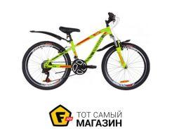 """Велосипед Discovery Flint AM VBR 2019 24"""" зеленый/красный 13"""" (OPS-DIS-24-117)"""