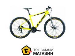"""Велосипед Leon XC 80 HDD 2019 27.5"""" желтый 20"""" (OPS-LN-27.5-042)"""