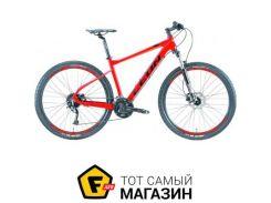 """Велосипед Leon XC 70 HDD 2019 27.5"""" красный/оранжевый 20"""" (OPS-LN-27.5-047)"""
