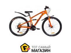 """Велосипед Formula Blaze DD 2019 26"""" оранжевый 15"""" (OPS-FR-26-294)"""