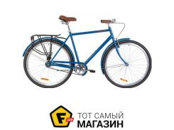"Велосипед Дорожник Comfort Male 2019 28"" синий 22"" (OPS-D-28-131)"