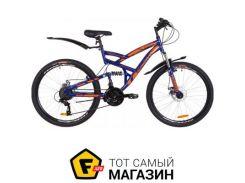 "Велосипед Discovery Canyon DD 2019 26"" синий/оранжевый 19"" (OPS-DIS-26-194)"