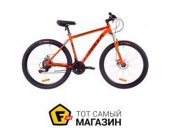 """Велосипед Formula Thor 1.0 DD 2019 27.5"""" оранжевый/черный/бирюзовый 19"""" (OPS-FR-27.5-013)"""