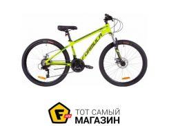 """Велосипед Formula Thor 2.0 DD 2019 26"""" салатовй/черный/бирюзовый 18"""" (OPS-FR-26-274)"""
