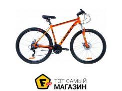 """Велосипед Formula Thor 2.0 DD 2019 29"""" оранжевый/черный/бирюзовый 20"""" (OPS-FR-29-050)"""
