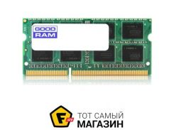 Память Goodram SODIMM DDR3 8GB, 1600MHz, PC3-12800 (GR1600S3V64L11/8G)