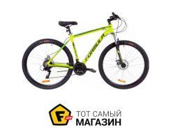 """Велосипед Formula Thor 2.0 DD 2019 29"""" салатовый/черный/бирюзовый 20"""" (OPS-FR-29-042)"""