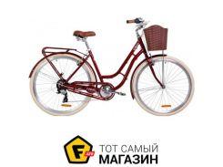 """Велосипед Дорожник Coral 2019 28"""" рубиновый 19"""" (OPS-D-28-154)"""