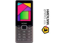 телефон nomi i241 plus metal dark grey