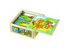 Кубики Веселые животные Bino (84198)