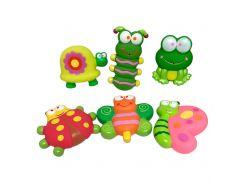 Набор игрушек для ванны Садовые друзья BABY TEAM 6 шт (9057)