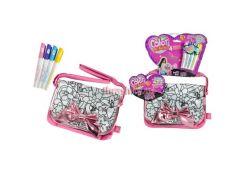 Сумочка Color Me Mine Бриллиантовая вечеринка, с бантиком, 4 маркера, 21 см, 6372203
