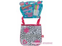 Мини-сумочка Color Me Mine с блесточками. Цветы19 см Simba (637 9148)