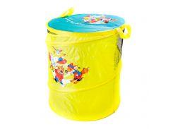 Бочка для игрушек DEVIK Play Joy желтая 46 х 57 см (T0303А)