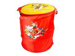 Бочка для игрушек DEVIK Play Joy красная 46 х 57 см (Т0303B)