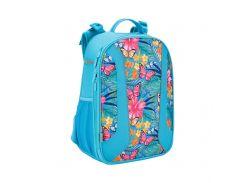 Рюкзак школьный каркасный Kite Tropical flower (К17-703М-2)