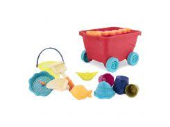 Набор для игры с песком и водой BATTAT Тележка манго (BX1594Z)