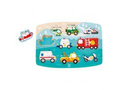 Іграшка-пазл Hape Спасательный транспорт (E1406)