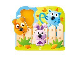Іграшка-пазл Hape Животные с носиками (E1309)