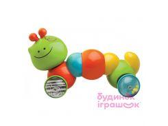 Развивающая игрушка-каталочка B kids Гусеничка (004377S)