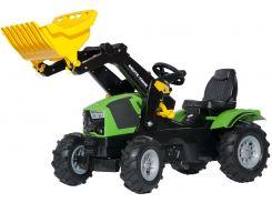 Трактор с ковшом Rolly Toys RollyFarmtrac Deutz-Fahr 5120 Зелено-Черный (611218)
