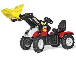 Трактор с ковшом Rolly Toys RollyFarmtrac Steyr 6240 Cvt Красно-Желтый (046331)
