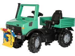 Пожарная машина Rolly Toys rollyUnimog Forst зеленый (038206)
