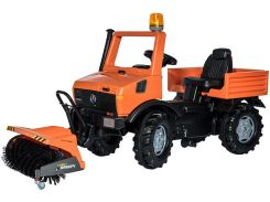 Пожарная машина Rolly Toys rollyUnimog Service оранжевый (038190)