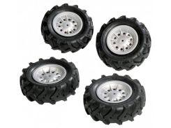 Набор надувных колес Rolly Toys rollyTrac Air Tyres 4х310х95 (409181)