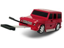 Чемодан машинка Ridaz Mercedes-Benz G-Class (91009W-RED)