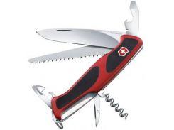 Victorinox RangerGrip 55 130мм/12предметов/красный-черный (0.9563.C)
