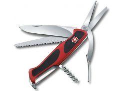Victorinox RangerGrip 71 Gardener 130мм/7предметов/красный-черный (0.9713.C)