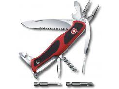 Victorinox RangerGrip 174 Handyman 130мм/17предметов/красный-черный (0.9728.WC)