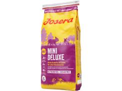 Сухой корм для взрослых собак малых пород Josera MiniDeluxe Adult беззерновой с ягненком 15 кг (4032254744207)