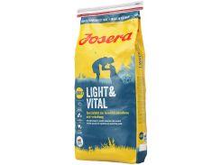Сухой корм для малоактивных собак Josera Light & Vital Adult с курицей 15 кг (4032254744047)