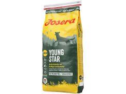 Сухой корм для молодых собак Josera YoungStar Junior беззерновой с мясом птицы 15 кг (4032254743507)