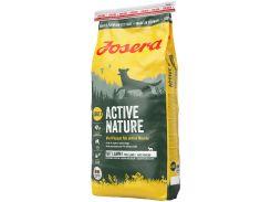 Сухой корм для собак Josera Active Nature с двумя видами мяса и травами 15 кг (4032254743446)