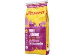Сухой корм для щенков малых пород Josera MiniJunior с уткой и рисом 15 кг (4032254744290)