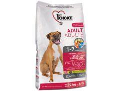 Сухой корм для взрослых собак всех пород 1st Choice со вкусом ягненка и океанической рыбы 15 кг