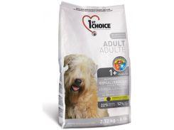 Сухой корм для взрослых собак всех пород 1st Choice со вкусом утки и картошки 12 кг