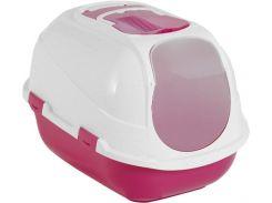 Туалет Moderna Mega Comfy для котов 66х46х50 см Розовый (5412087004508)