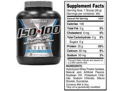 Dymatize ISO-100 1362 g /48 servings/ Gourmet Vanilla