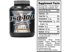Dymatize ISO-100 1362 g /48 servings/ Gourmet Chocolate